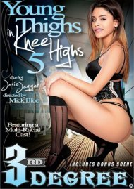 Young Thighs In Knee Highs 5 DVD Image from Third Degree Films.