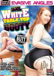 3XL White Table Top Booty Porn Video