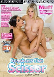 Stepsisters That Scissor DVD Image from Lethal Hardcore.