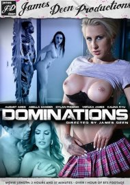 Dominations DVD Image from James Deen Productions.