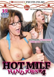 Hot MILF Handjobs #4 DVD Image from Forbidden Fruits Films.