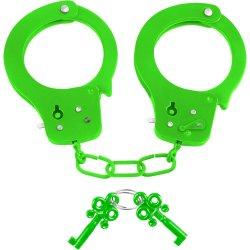Neon Fun Cuffs - Green Sex Toy