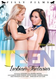Teen Lesbian Fantasies DVD Image from Filly Films.