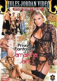 Private Fantasies Of Samantha Saint DVD Image from Jules Jordan Video.
