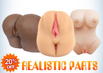20% Off Realistic Body Parts