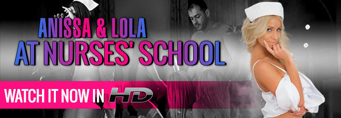 Watch Anissa & Lola At Nurses' School Porn Movie on streaming video from Marc Dorcel.