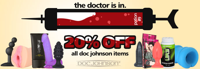 Browse 20% off Doc Johnson sex toys.