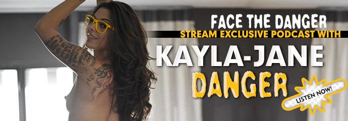 Podcast interview with pornstar Kayla-Jane Danger.