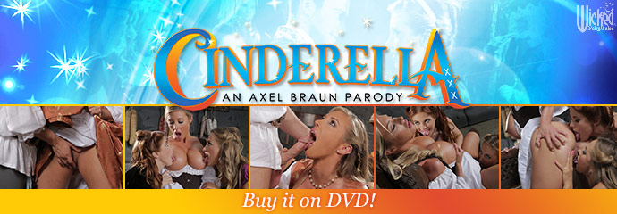 Buy Cinderella XXX: An Axel Braun Parody DVD porn movie from Wicked Pictures.