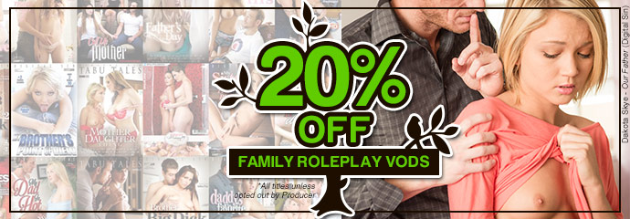 Buy Family Roleplay streaming porn videos at 20% discount.