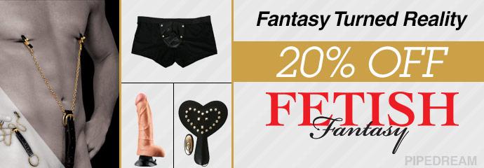 Buy 20% off beads Fetish Fantasy sex toys.