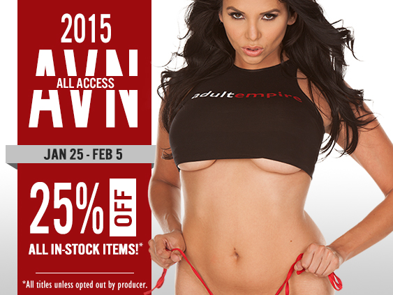 Shop AVN all access sale: all in-stock items on sale now.