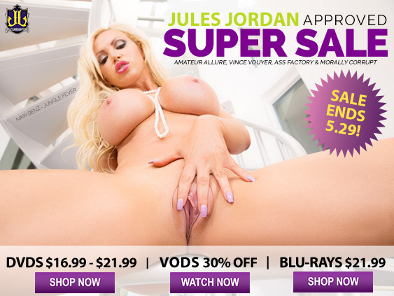Browse the Jules Jordan Video Super Sale.