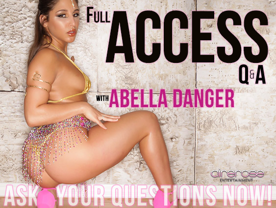 Submit questions for pornstar Abella Danger.