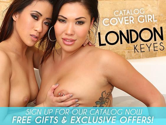 Catalog Cover Girl - London Keyes