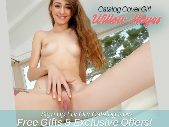 Catalog Cover Girl - Willow Hayes