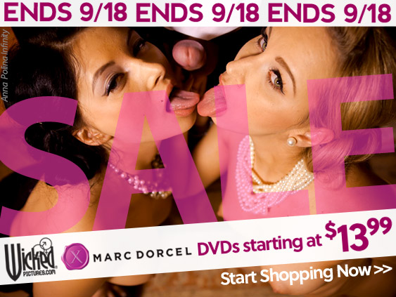 Shop the Wicked Pictures/Marc Dorcel sale.