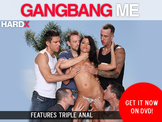 Buy Gangbang Me DVD porn movie from Hard X starring A.J. Applegate
